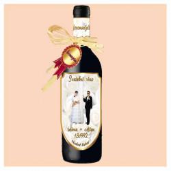 Svatební víno s vlastním...