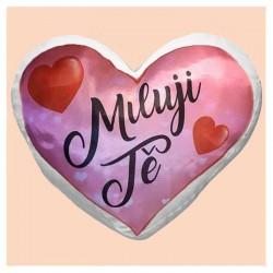 Miluji Tě - srdce polštář