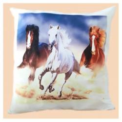 Polštář s motivem koní