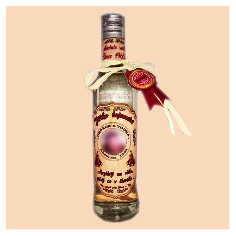 Vodka - šablona