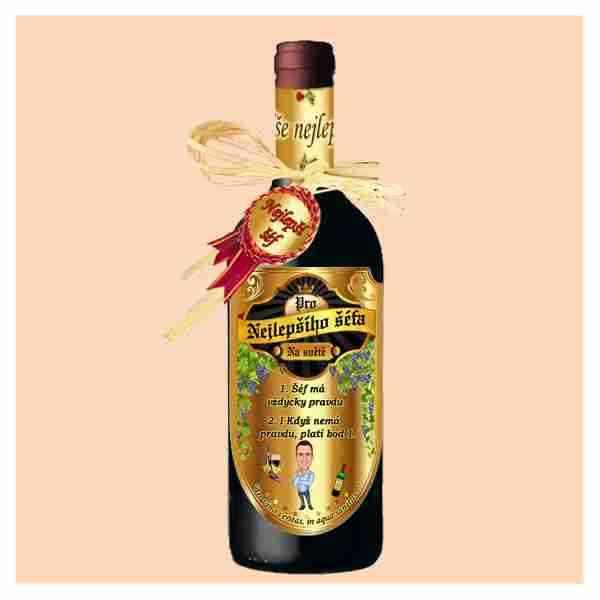 Šéf - víno