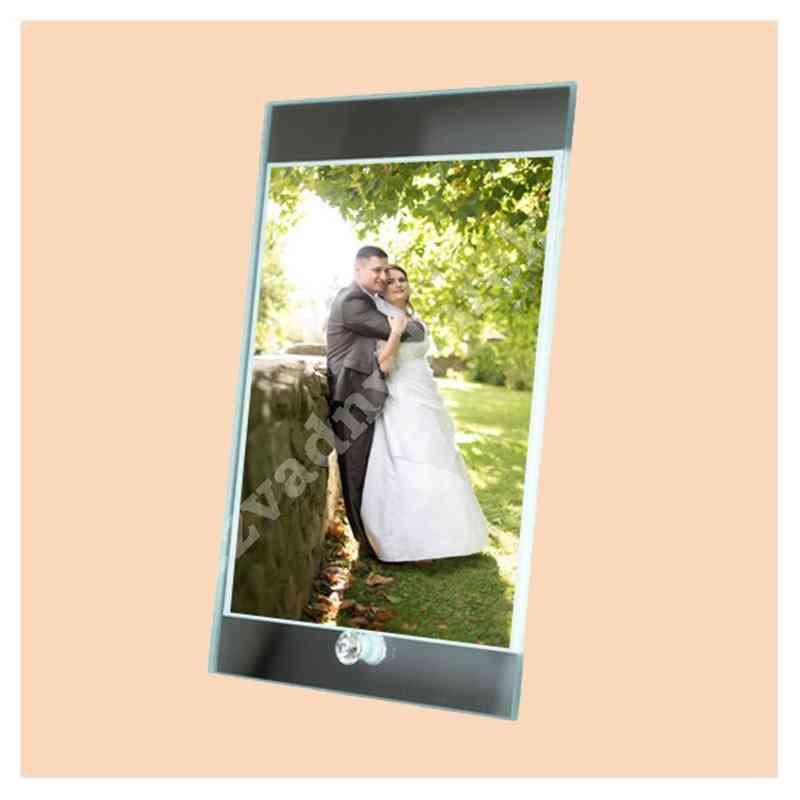 Fotorámek, fotorámeček, 15x23 skleněný s potiskem, s fotografií