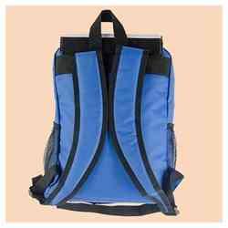 Batoh 30x31 cm školní, modrý, s potiskem
