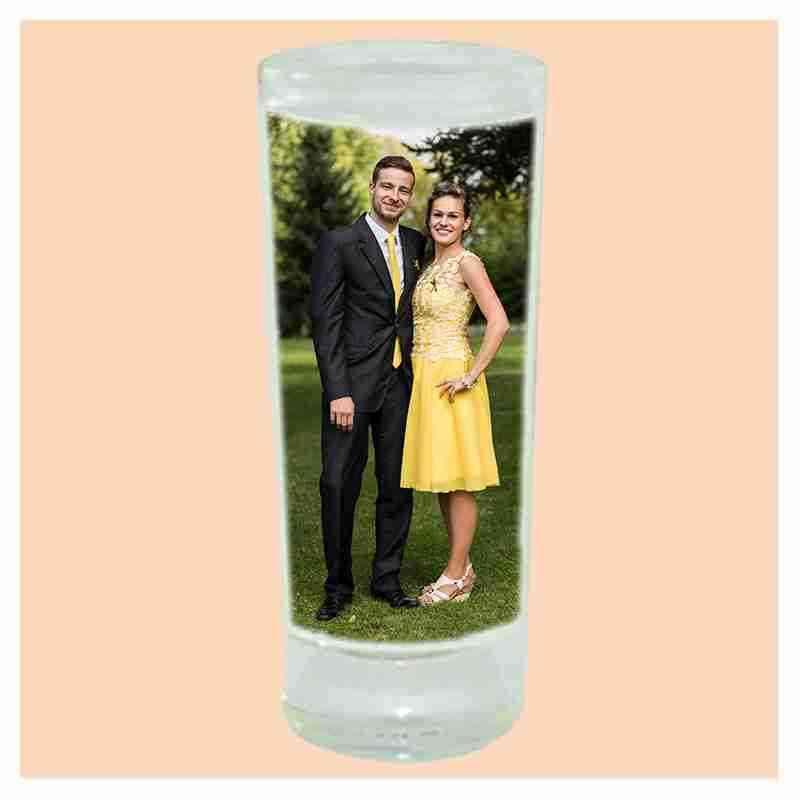 Štamprle, likérka,  skleněná, s vlastní fotkou, či potiskem, 60 ml