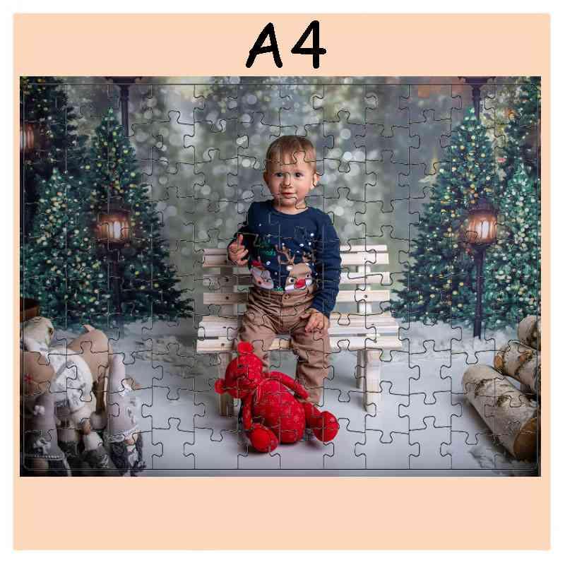 Puzzle  - 120 dílků, 21,2 x 30 cm, s potiskem, s fotografií