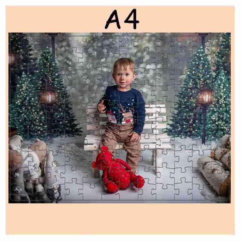 Puzzle  - 120 dílků,A4, 21 x 30 cm, s potiskem, s fotografií
