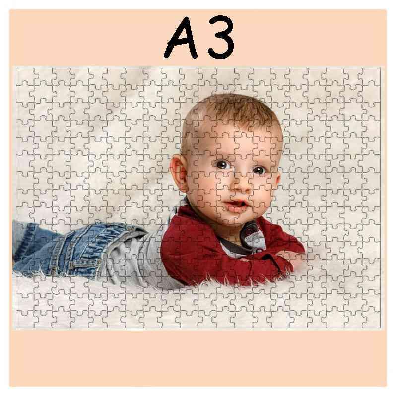 Puzzle  - 300 dílků, 30,3 x 42,3 cm, s potiskem, s fotografií