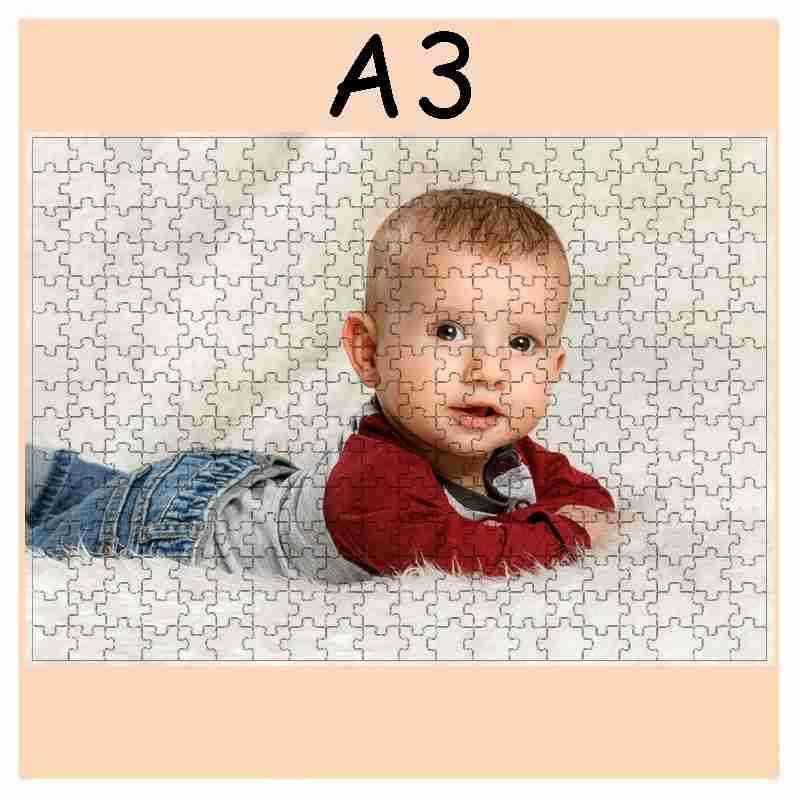 Puzzle  - 300 dílků A3,30x40cm, s potiskem, s fotografií