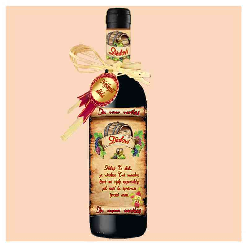 Děda - víno