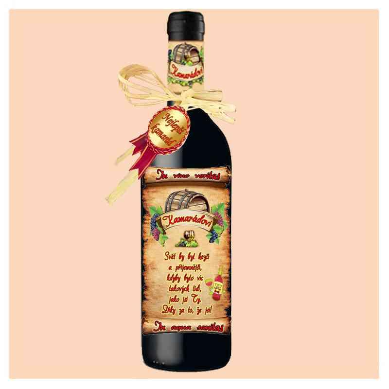 Kamarád - víno