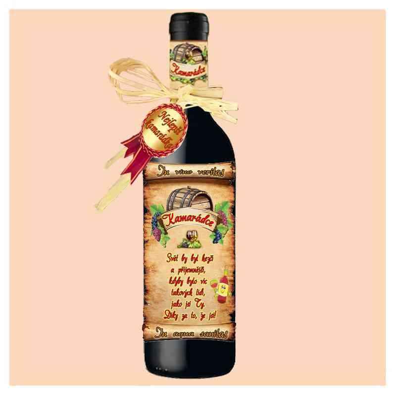Kamarádka - víno