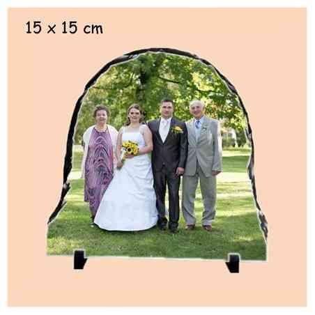 Kámen 12x22 cm břidlice s potiskem, s fotografií