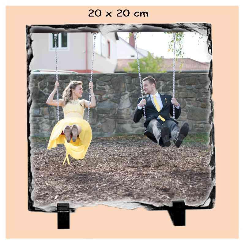 Kámen 20x20 cm břidlicový čtvercový