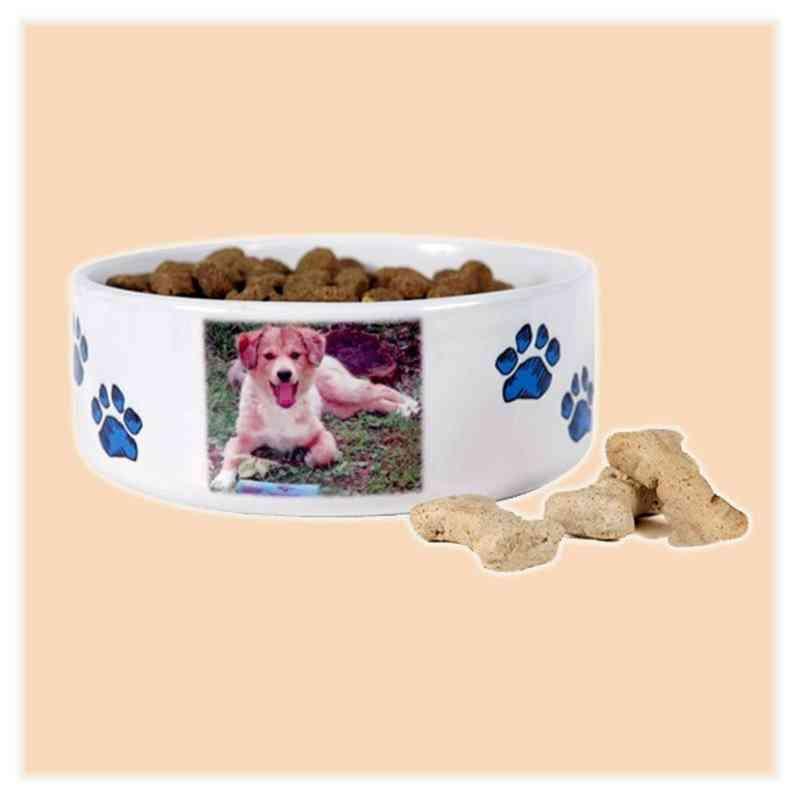 Miska pro psa s vlastní fotkou, či potiskem, průměr 180 mm