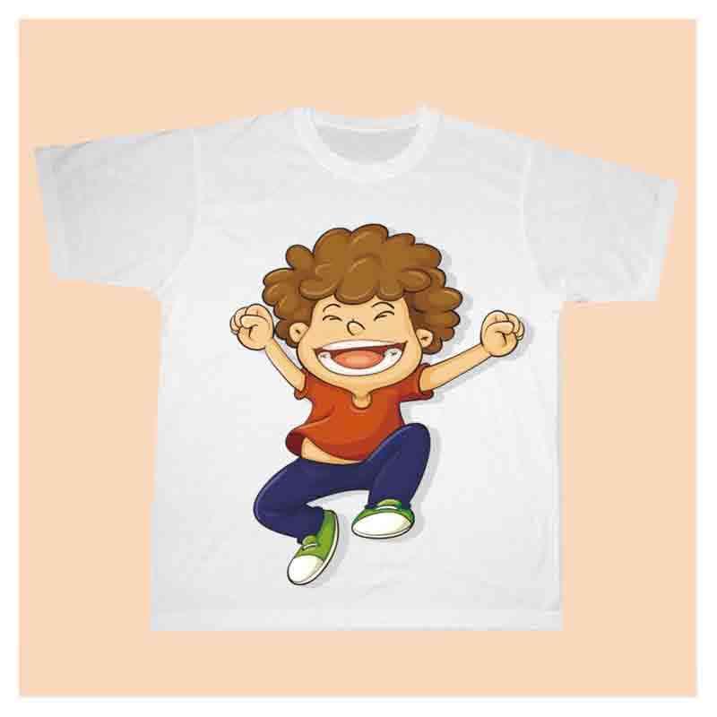Tričko bílé dětské s vlastní fotkou
