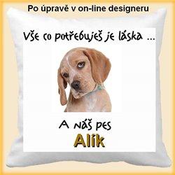 Pes - polštář
